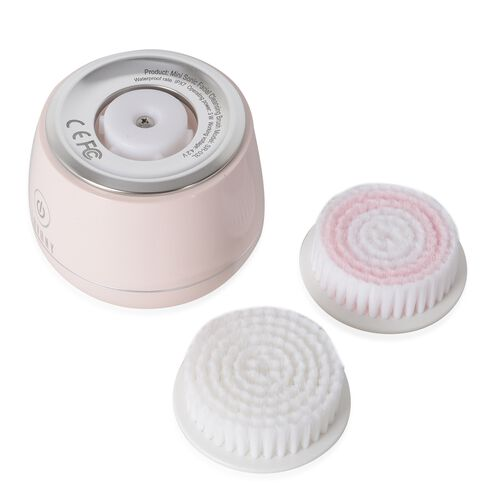 Lavany: Mini Sonic Facial Cleansing Brush (Pink)