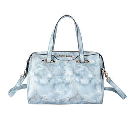 LOCK SOUL Marble Pattern Convertible Bag with Shoulder Strap (Size 27x20x13Cm) - Green