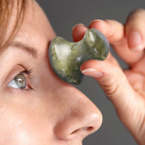 Green Jade Mushroom Massager
