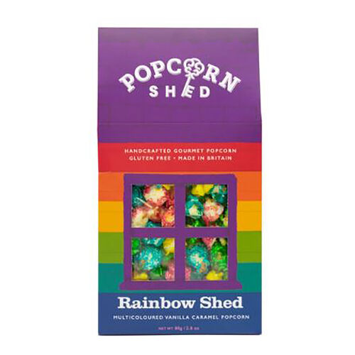 POPCORN SHED 3-shed Gourmet Popcorn Selection Pack (Rainbow/Birthday Cake/Cookies & Cream)