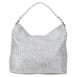 Bulaggi Collection - Sky - Silver Hobo Handbag (36x33x14 cm) - Silver