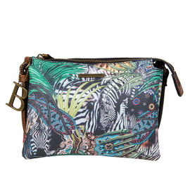 Bulaggi Collection - Jungle Crossbody Bag (Size 21x10x06 Cm) - Multi