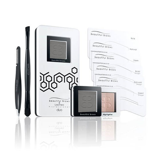 Beautiful Brows: Duo Brow Kit Slate with Free Eyebrow Trimmer