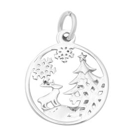 Thai Sterling Silver Tree Theme Pendant