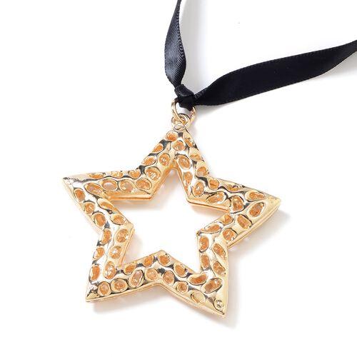 RACHEL GALLEY Star Baubles in Gold Tone