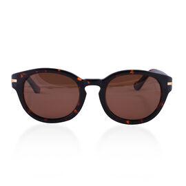 DOD- Loopies Round Polarised Folding Sunglasses in Tortoise Shell