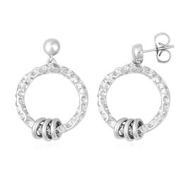 RACHEL GALLEY Allegro Collection -  Rhodium Overlay Sterling Silver Earrings (with Push Back), Silve
