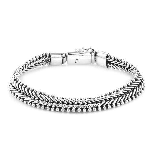 Royal Bali Collection Chain Bracelet in Sterling Silver 35.60 Grams 7.5 Inch