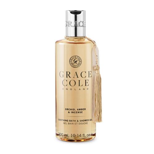 Grace Cole: Orchid Amber & Incense  Bath & Shower Gel - 300ml