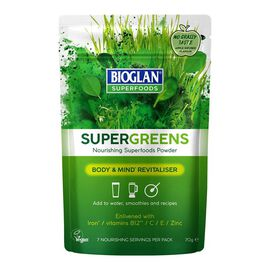 Bioglan Superfoods: Supergreens - 70g