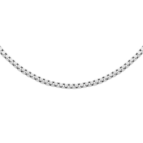 Sterling Silver Box Chain (Size 16.5)