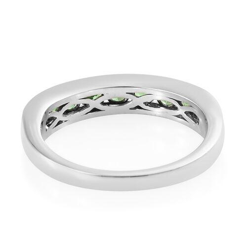 Rhapsody Tsavorite Garnet (1.00 Ct) 950 Platinum Ring  1.000  Ct.