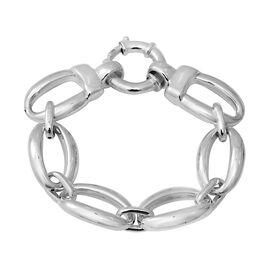 Curb Link Bracelet in Silver 19.19 Grams 8 Inch