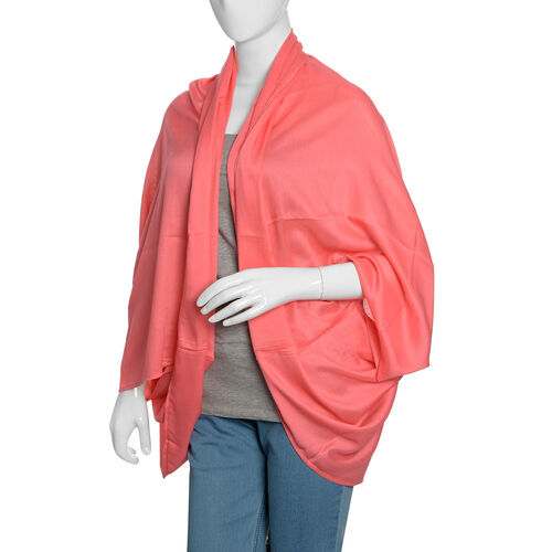 Coral Casual Drape Cardigan (Free Size)