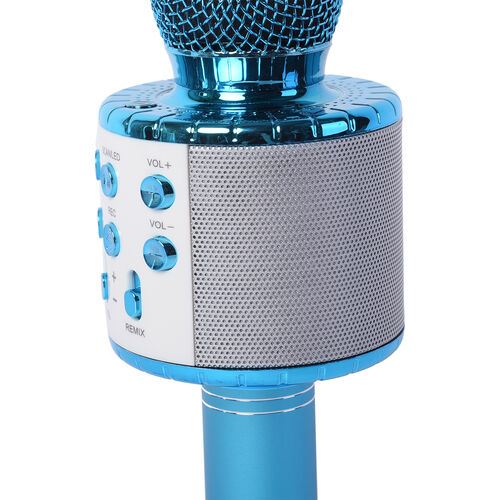Wireless Multi-Functional Microphone - Blue