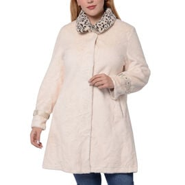 Close Out Deal- Winter Coat (Size 62x90cm) - Ivory