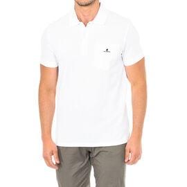 Karl Lagerfeld Mens Basic Polo Short Sleeve in White Colour Size S