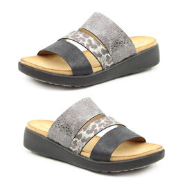 Heavenly Feet Mona Mule (Size 3) - Black