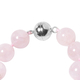 One Time Deal-Zambezia Morganite (Rnd 8-13mm) Necklace (Size 20) in Silver with Magnetic Lock 370.50 Ct.