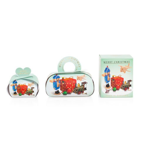 The English Soap Company:  Luxury Guest Soaps (Village Toys) - 3x20g, Large Gift Soap - 260g & Pure