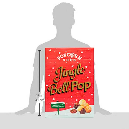 POPCORN SHED: Gourmet Popcorn Advent Calendar 112g
