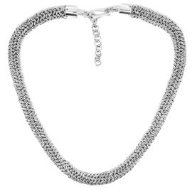 Royal Bali Collection Sterling Silver Necklace (Size 18 with 1 inch Extender), Silver wt. 80.23 Gms.