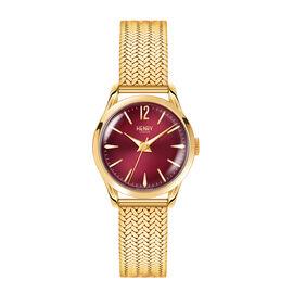 Henry London Holborn Ladies Pale Hamilton Gold Stainless Steel Bracelet Watch