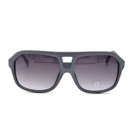 GUESS Mens Grey Aviator With Grey Lenses