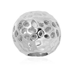 RACHEL GALLEY Rhodium Overlay Sterling Silver Pendant Silver Wt 2.00 Gms