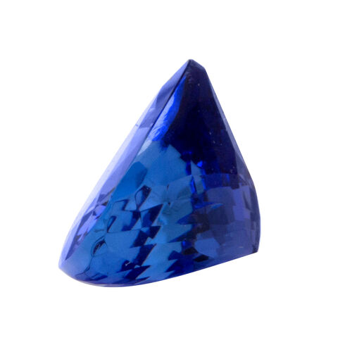 IGI Certified Tanzanite Faceted (Pear 10.95x10.93 4A) 5.470 Cts  (GT12982011)