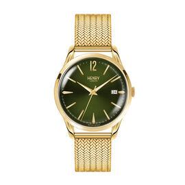 Henry London Chiswick Ladies Pale Hamilton Gold Stainless Steel Bracelet Watch