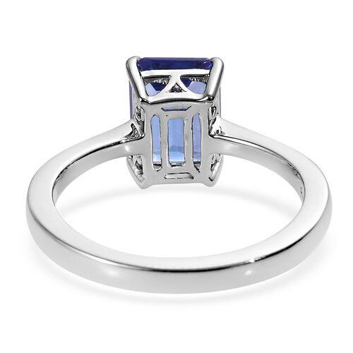 RHAPSODY 950 Platinum AAAA Tanzanite (Oct) Ring 2.000 Ct.