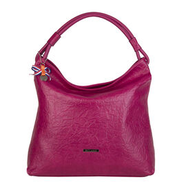 Bulaggi Collection - Sabrina Hobo Bag (Size 35x34x13 Cm) - Fuchsia