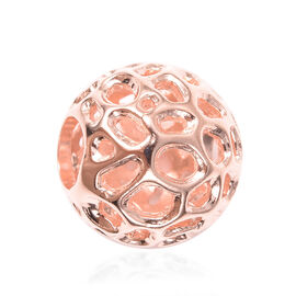 RACHEL GALLEY Globe Charm Pendant in Rose Gold Plated Silver