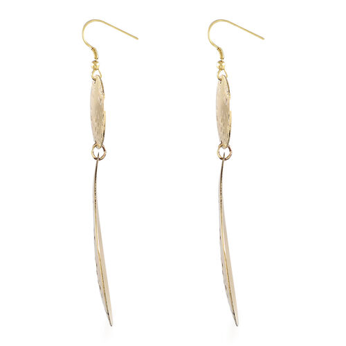 Shiny Dangle Hook Earrings