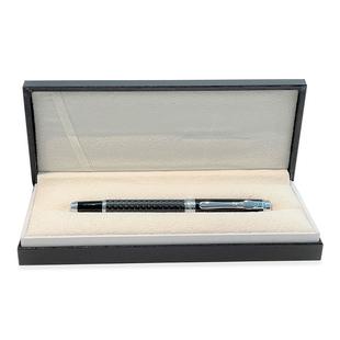 Azarine Shield Roller Pen with Snap Closure - Black