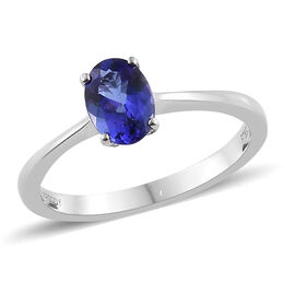 Rhapsody AAAA Tanzanite (1.00 Ct) 950 Platinum Ring  1.000  Ct.