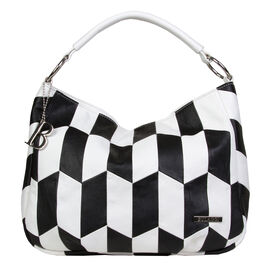 Bulaggi Collection - Billie - Graphic Print Hobo Shoulder Bag with Adjustable and Removable Strap (2