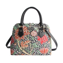 SIGNARE - Tapestry Collection - The Cray Top-Handle Shoulder Bag with Removable Strap ( 36 x 23 x 12.5 Cms)
