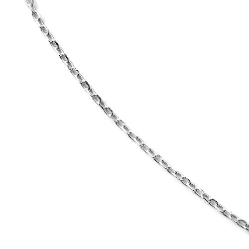 ELANZA Simulated Diamond (Rnd) Heart Pendant Necklace (Size 16 and 1 inch Extender) in Rhodium Overlay Sterling Silver