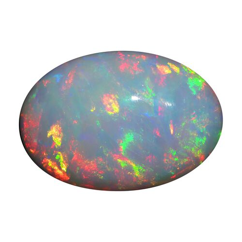 AAA Ethiopian Opal Oval Free Cabochon 26.35 Cts
