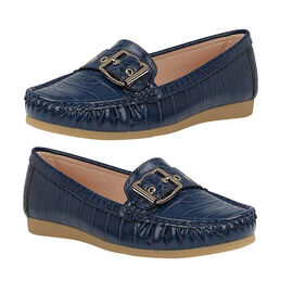 Lotus Cory Slip-on Loafer - Navy