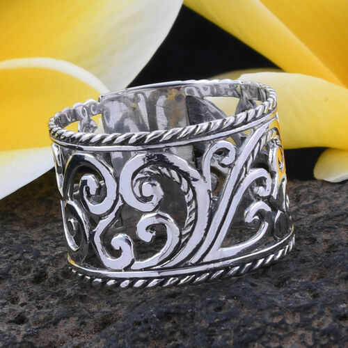 Royal Bali Collection Sterling Silver Hand Made Ring