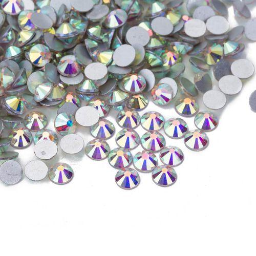 2 Layer Fashion Face Cover Black Reusable Aurora Borealis Crystal Covered