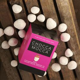 Chocca Mocca - Strawberries Coated in White Chocolate - 100g