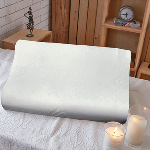 SERENITY NIGHT 100% Natural Latex and Contour Pillow (Size:55x37x9Cm)