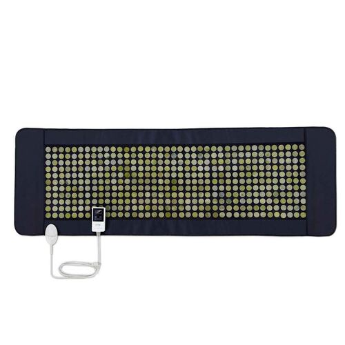 UTK FIR Infrared 220W Natural Jade Heating Pad (Size 60x180 Cm) with Plug and Cloth Cover