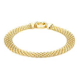 9K Yellow Gold Bismark Bracelet (Size 7.5), Gold 5.60 Gms.