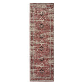 95% Cotton Chenille Jacquard Carpet (Size 240x80 Cm)