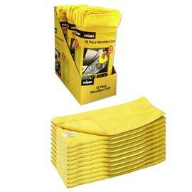 ROLSON 10 Piece Ultra Soft Micro Fibre Cloth